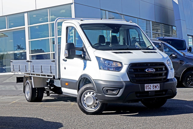 Used Ford Transit 470E Springwood, 2020 Ford Transit 470E White 6 Speed Manual Single Cab Cab Chassis