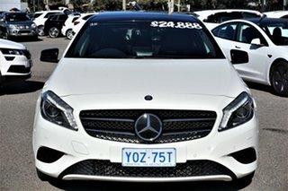 2013 Mercedes-Benz A-Class W176 A200 DCT White 7 Speed Sports Automatic Dual Clutch Hatchback.