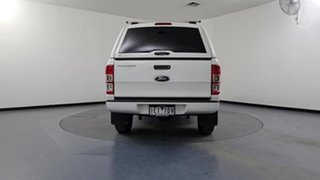 2015 Ford Ranger PX XL 2.2 Hi-Rider (4x2) White 6 Speed Automatic Crew Cab Chassis