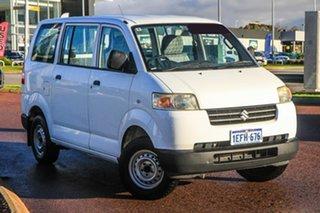2008 Suzuki APV White 5 Speed Manual Van.