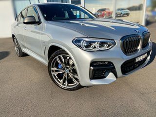 2020 BMW X4 G02 M40i Coupe Steptronic Silver 8 Speed Sports Automatic Wagon.