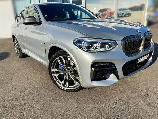Pre-Owned BMW X4 G02 M40i Coupe Steptronic Cardiff, 2020 BMW X4 G02 M40i Coupe Steptronic Silver 8 Speed Sports Automatic Wagon