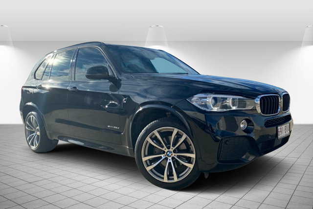 Used BMW X5 F15 sDrive25d Hervey Bay, 2017 BMW X5 F15 sDrive25d Black 8 Speed Automatic Wagon