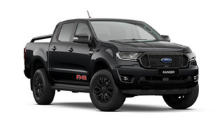 2021 Ford Ranger PX MkIII FX4 Shadow Black 10 Speed Automatic Double Cab Pick Up.