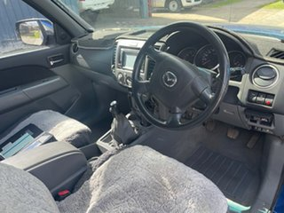 2009 Mazda BT-50 09 Upgrade Boss B3000 DX (4x4) Blue 5 Speed Manual Dual Cab Chassis