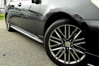 2010 Toyota Crown URS206 Majesta Black 8 Speed Sedan.
