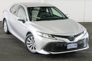 2019 Toyota Camry AXVH71R Ascent Silver Pearl 6 Speed Constant Variable Sedan Hybrid.