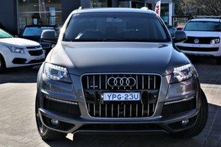 2013 Audi Q7 MY13 TDI Tiptronic Quattro Grey 8 Speed Sports Automatic Wagon.