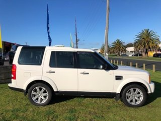 2009 Land Rover Discovery 3 Series 3 09MY SE White 6 Speed Sports Automatic Wagon.