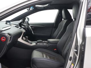 2017 Lexus NX300H AYZ15R F-Sport Hybrid (AWD) Silver 6 Speed CVT Auto Sequential Wagon
