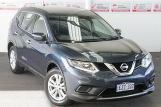 2016 Nissan X-Trail T32 ST (FWD) Blue Continuous Variable Wagon.