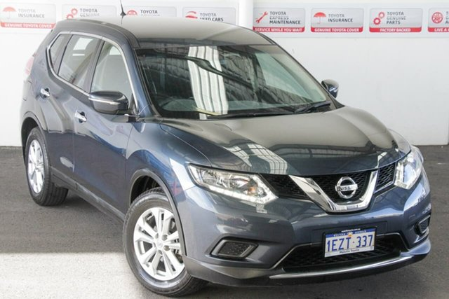 Pre-Owned Nissan X-Trail T32 ST (FWD) Rockingham, 2016 Nissan X-Trail T32 ST (FWD) Blue Continuous Variable Wagon
