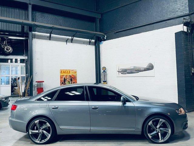 Used Audi A6 4F MY11 Multitronic Port Melbourne, 2011 Audi A6 4F MY11 Multitronic Grey 1 Speed Constant Variable Sedan