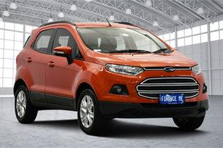2017 Ford Ecosport BK Trend PwrShift Orange 6 Speed Sports Automatic Dual Clutch Wagon.