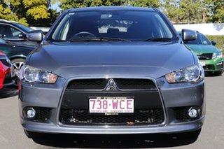 2015 Mitsubishi Lancer CJ MY15 GSR Sportback Grey 5 Speed Manual Hatchback.