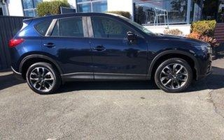 2014 Mazda CX-5 KE1021 MY14 Grand Touring SKYACTIV-Drive AWD Blue 6 Speed Sports Automatic Wagon.
