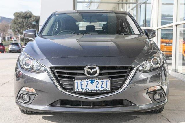 Used Mazda 3 BM5478 Maxx SKYACTIV-Drive Ferntree Gully, 2015 Mazda 3 BM5478 Maxx SKYACTIV-Drive Grey 6 Speed Sports Automatic Hatchback