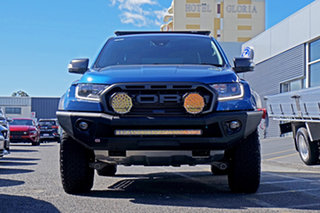 2020 Ford Ranger PX MkIII 2020.25MY Raptor Blue 10 Speed Sports Automatic Double Cab Pick Up.