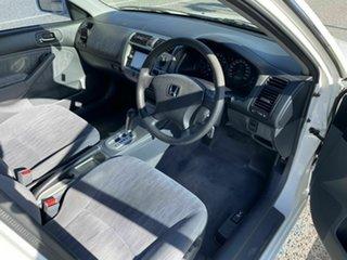 2005 Honda Civic 7th Gen GLi White 4 Speed Automatic Sedan