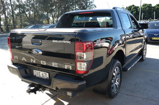 2017 Ford Ranger PX MkII Wildtrak Double Cab Black 6 Speed Manual Utility