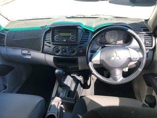 2011 Mitsubishi Triton MN MY11 GL-R Double Cab 4x2 White 4 Speed Automatic Utility