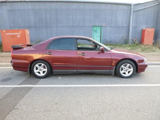 Used Mitsubishi Magna TJ Advance Beverley, 2001 Mitsubishi Magna TJ Advance Burgundy 4 Speed Automatic Sedan