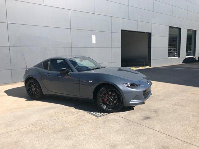 New Mazda MX-5 ND GT RF SKYACTIV-MT Alexandria, 2021 Mazda MX-5 ND GT RF SKYACTIV-MT Polymetal Grey 6 Speed Manual Targa