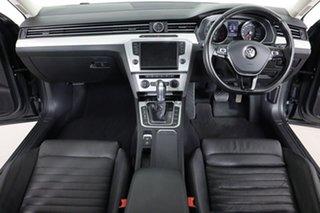 2017 Volkswagen Passat 3C MY17 132 TSI Comfortline Grey 7 Speed Auto Direct Shift Sedan