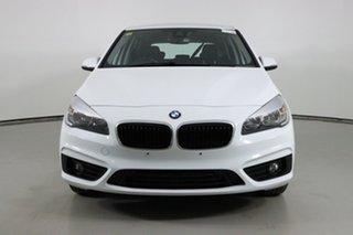 2017 BMW 218i F45 MY17 Active Tourer Luxury Line White 6 Speed Automatic Wagon.
