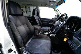 2017 Mitsubishi Pajero NX MY18 GLX White 5 Speed Sports Automatic Wagon