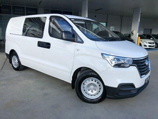 Used Hyundai iLOAD TQ4 MY19 Ravenhall, 2018 Hyundai iLOAD TQ4 MY19 Creamy White 5 Speed Automatic Van