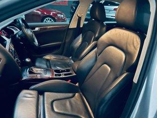 2009 Audi A4 B8 8K Tiptronic Quattro Silver 6 Speed Sports Automatic Sedan