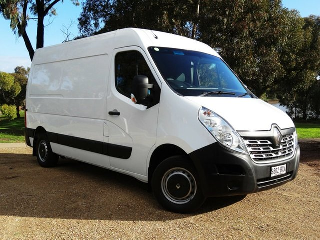 Used Renault Master X62 Mid Roof MWB AMT Morphett Vale, 2018 Renault Master X62 Mid Roof MWB AMT White 6 Speed Sports Automatic Single Clutch Van