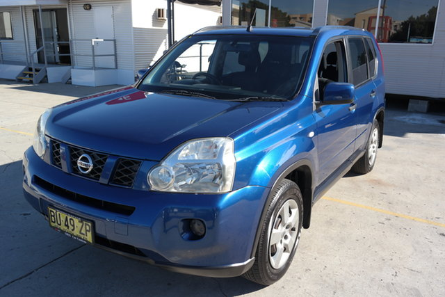Used Nissan X-Trail T31 ST Maryville, 2009 Nissan X-Trail T31 ST Blue 1 Speed Constant Variable Wagon
