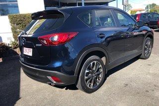 2014 Mazda CX-5 KE1021 MY14 Grand Touring SKYACTIV-Drive AWD Blue 6 Speed Sports Automatic Wagon