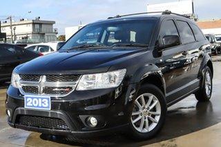 2013 Dodge Journey JC MY13 SXT Black 6 Speed Automatic Wagon.