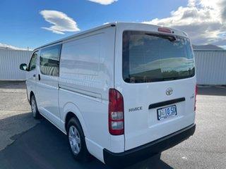 2018 Toyota HiAce TRH201R LWB White 6 Speed Automatic Van