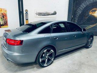 2011 Audi A6 4F MY11 Multitronic Grey 1 Speed Constant Variable Sedan