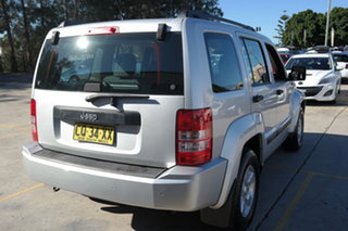 2009 Jeep Cherokee KK MY08 Sport Silver 4 Speed Automatic Wagon
