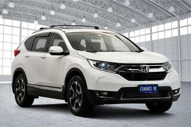 Used Honda CR-V RW MY18 VTi-L FWD Victoria Park, 2018 Honda CR-V RW MY18 VTi-L FWD White 1 Speed Constant Variable Wagon