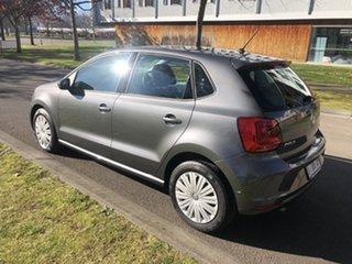 2016 Volkswagen Polo 6R MY16 66TSI Trendline Gun Metallic 5 Speed Manual Hatchback