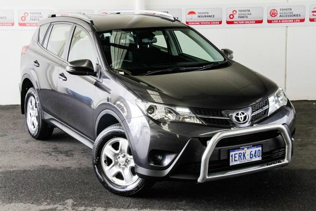 Pre-Owned Toyota RAV4 ZSA42R MY14 Upgrade GX (2WD) Myaree, 2014 Toyota RAV4 ZSA42R MY14 Upgrade GX (2WD) Graphite Continuous Variable Wagon