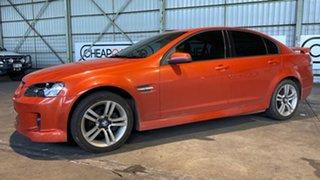 2006 Holden Commodore VE SV6 Orange 5 Speed Sports Automatic Sedan.