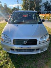 2003 Suzuki Ignis RG413 GL Silver 4 Speed Automatic Hatchback.