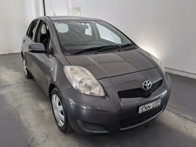 Used Toyota Yaris NCP91R YRS Maryville, 2008 Toyota Yaris NCP91R YRS Grey 4 Speed Automatic Hatchback