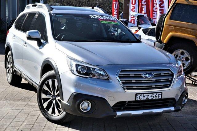 Used Subaru Outback B6A MY15 3.6R CVT AWD Phillip, 2015 Subaru Outback B6A MY15 3.6R CVT AWD Silver 6 Speed Constant Variable Wagon