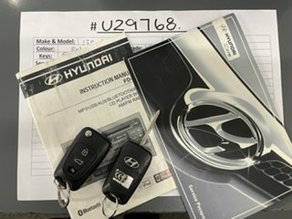2011 Hyundai i30 FD MY11 SLX cw Wagon Red 4 Speed Automatic Wagon.