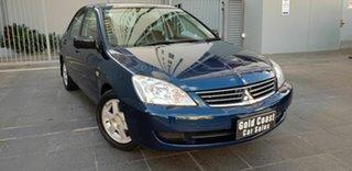2006 Mitsubishi Lancer CH MY07 ES Blue 5 Speed Manual Sedan.