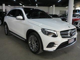 2017 Mercedes-Benz GLC-Class X253 808MY GLC250 d 9G-Tronic 4MATIC Polar White 9 Speed.