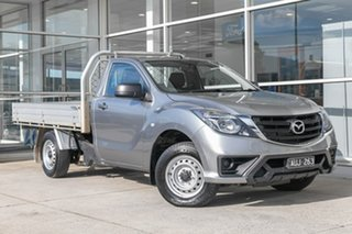 2018 Mazda BT-50 UR0YE1 XT 4x2 Brown 6 Speed Manual Cab Chassis.